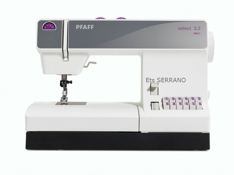 machineacoudre pfaff select 3 2 serrano agen